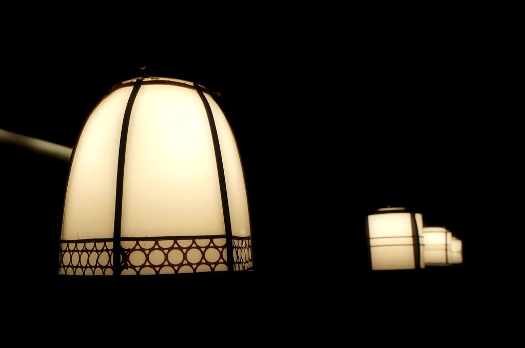 そしてお客様を照らす灯こそ優しい…