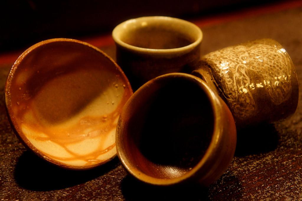 土物の陶器もいろいろ~燗酒をより美味しく~