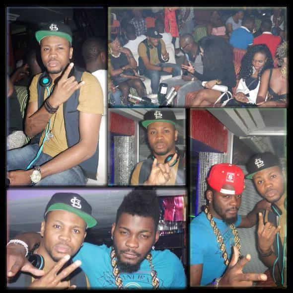 Dibi Dobo et DJ Arafat à la Présidence Night Club Abidjan Côte d'Ivoire