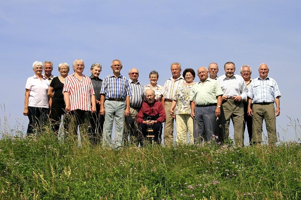 Die Ehrenmitglieder im Jubiläumsjahr 2011
