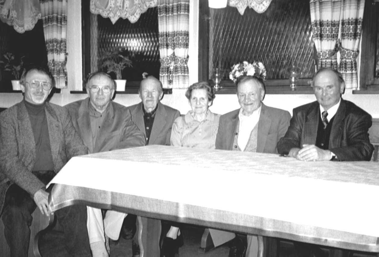 Ehrenmitglieder im Jahre 1986