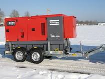 Fahrbarer Notstromgernerator 100 KVA