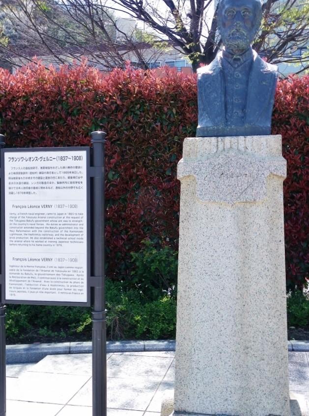 フランソワ・レオンズ・ヴェルニーの胸像