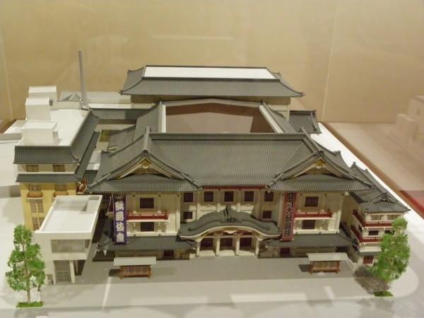 第4期歌舞伎座の模型