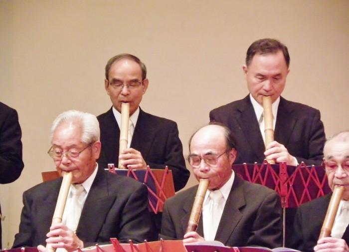 後列左側 下田嵐康先生