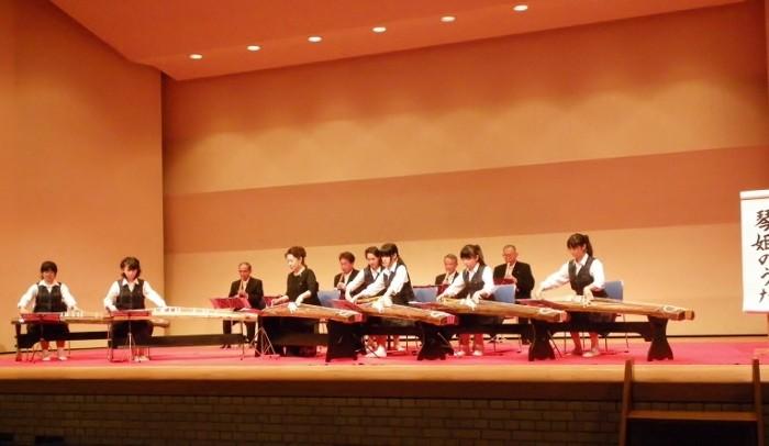 9番 琴姫のうた・・神明中学校音楽部