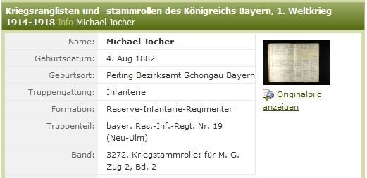 aus: Ancestry.de