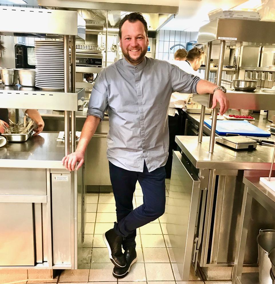 Jan Hartwig, Sternekoch im Restaurant Atelier