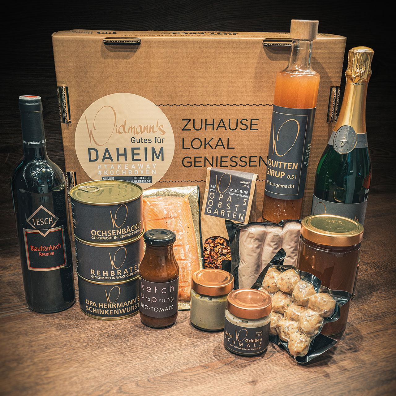 Widmann's Gutes für Daheim - Feinkost-Box