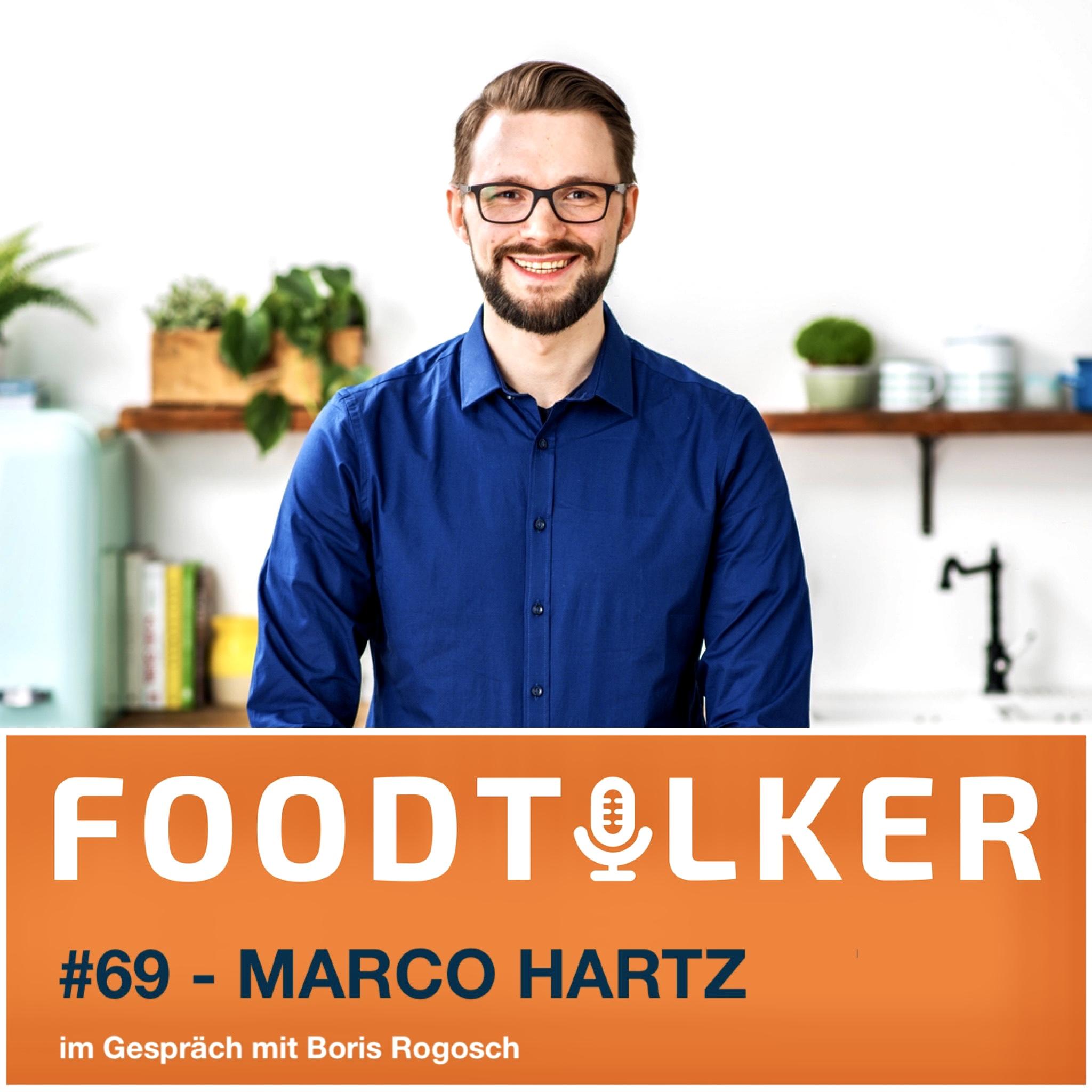 Marco Hartz - Rezeptentwickler bei HelloFresh