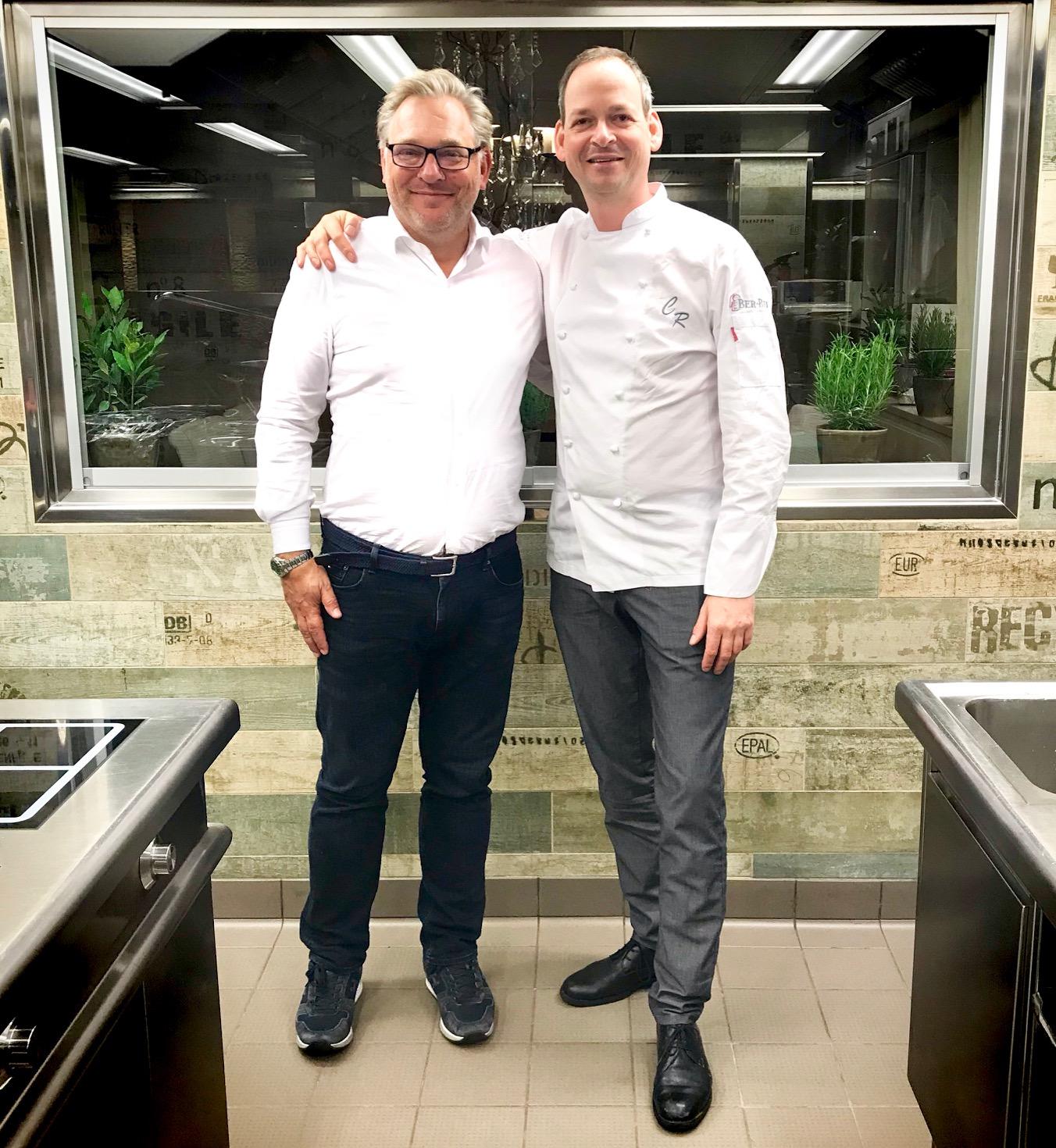 Christoph Rüffer und Foodtalker - Boris Rogosch (li.)