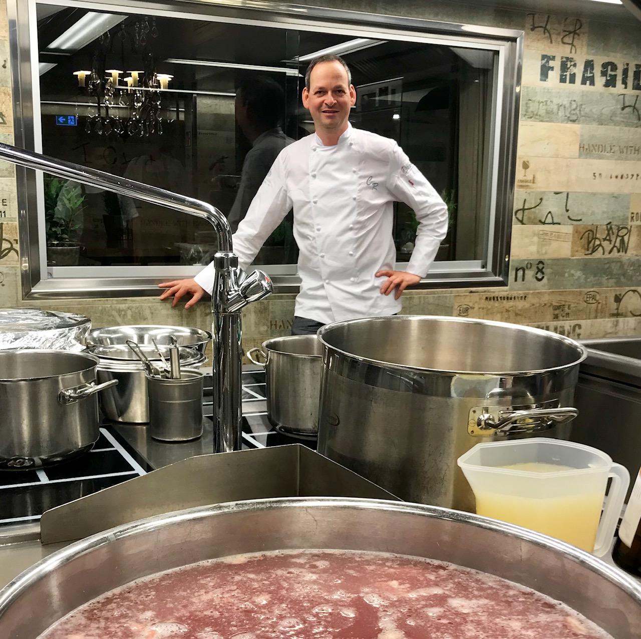 Christoph Rüffer, Chef de Cuisine im Restaurant Haerlin (2 Michelin Sterne)