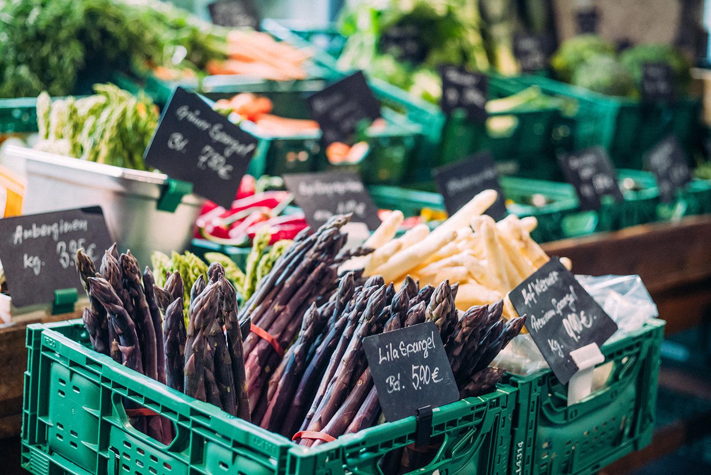 """Regionale, saisonal und nachaltige Lebensmittel in der """"Hobenköök"""""""