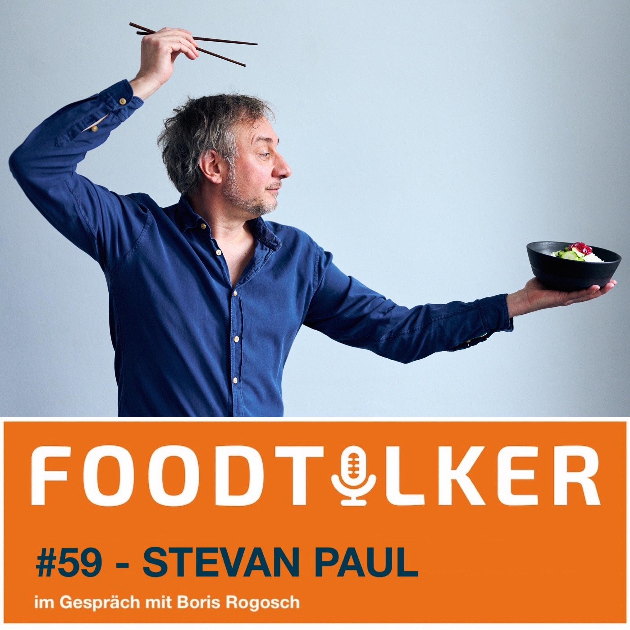 Stevan Paul - Kochbuchautor und Foodjournalist*