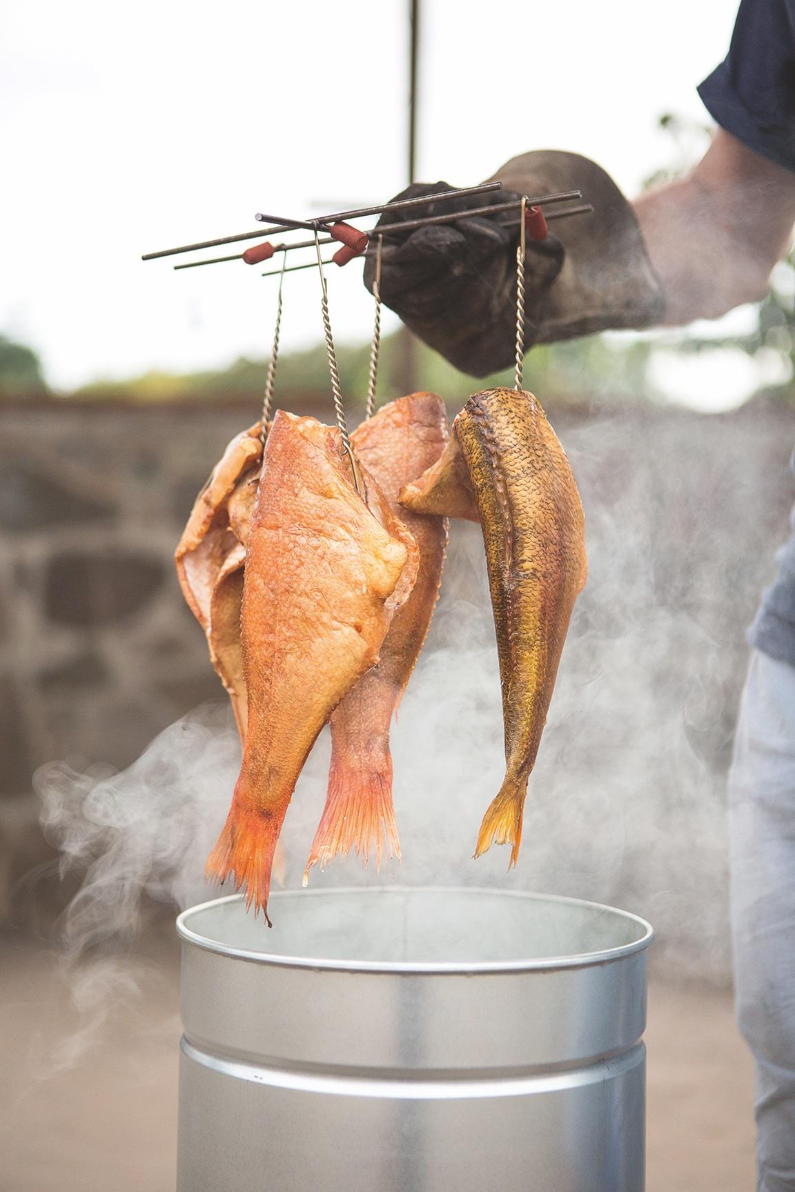 Räucherfisch (Glut& Späne)*