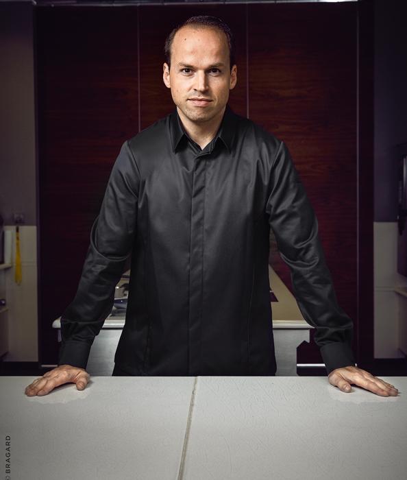 Tristan Brandt, Küchenchef im 2 Sterne-Restaurant OPUS V  Foto: Bragard