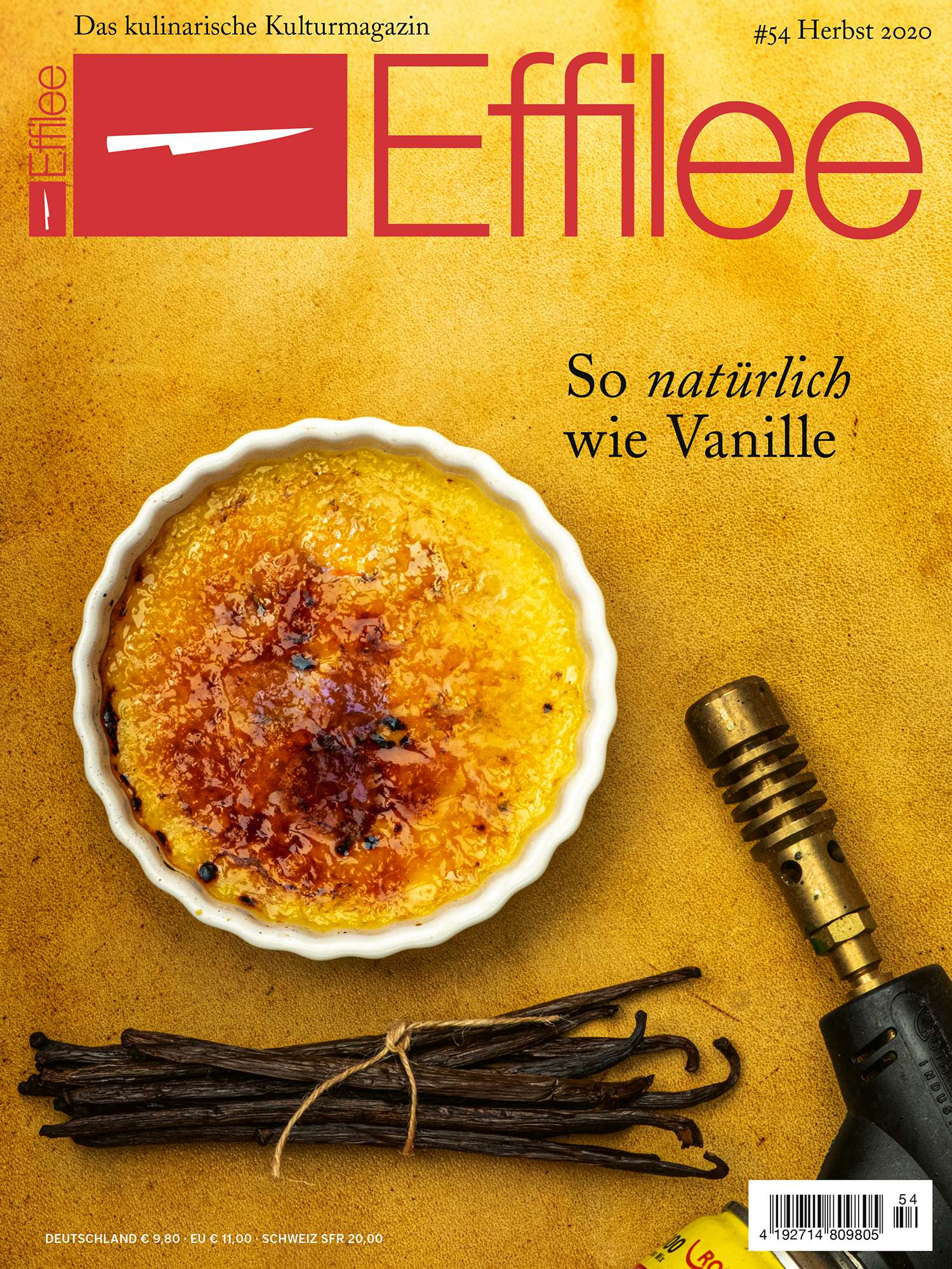Effillee - Das kulinarische Kulturmagazin #54 - Herbst 2020