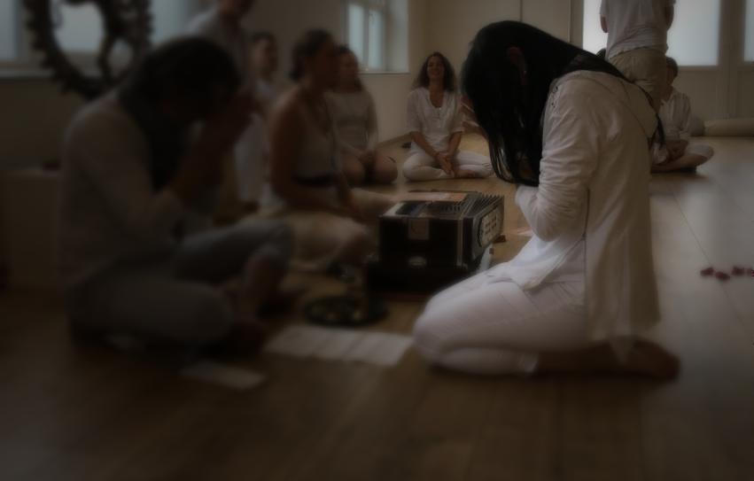 Abschlussfeier Yogalehrer Ausbildung