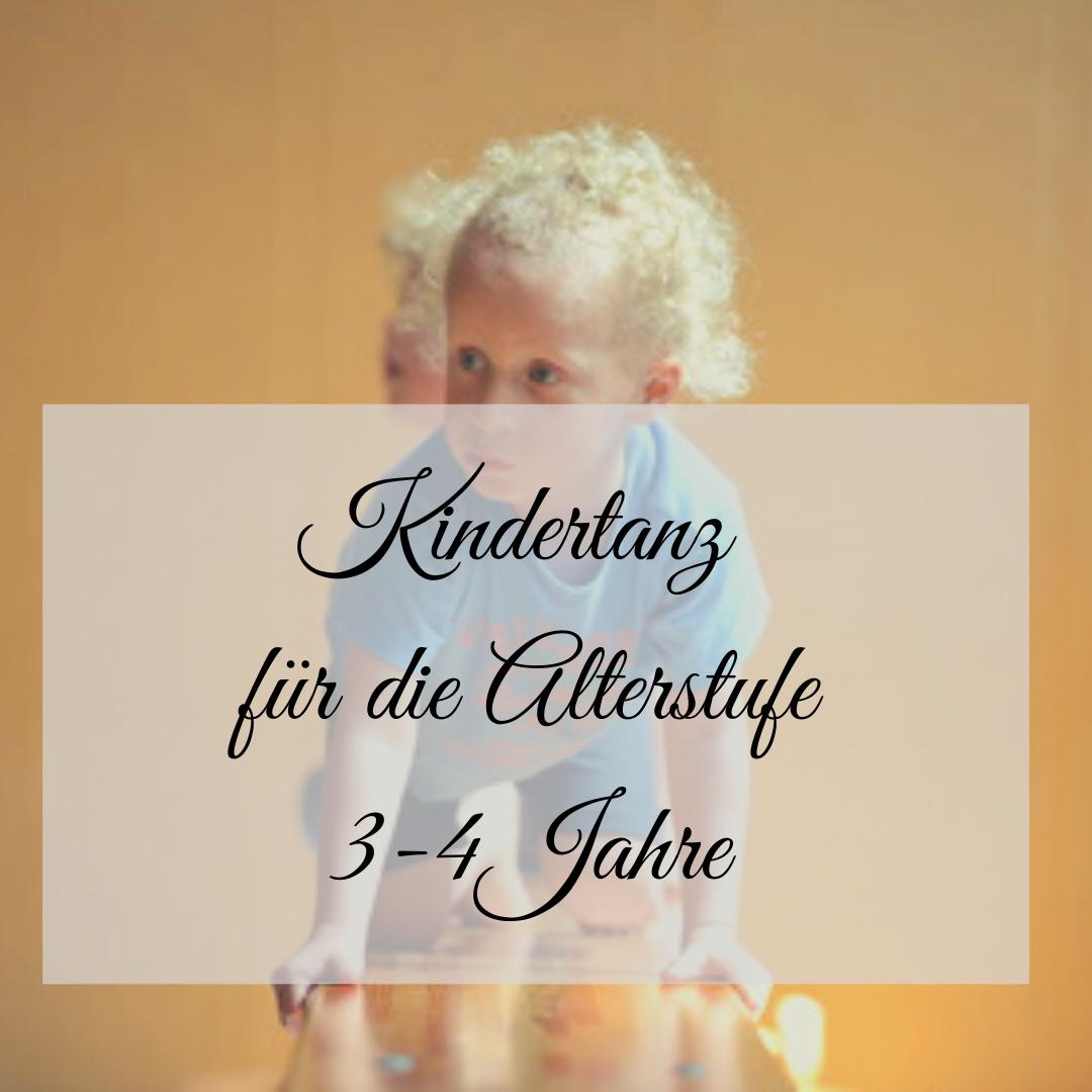 Kindertanz für die Altersstufe 3-4 Jahre