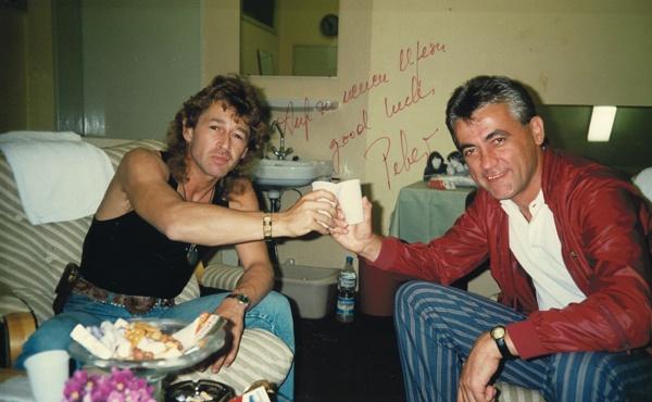 Peter Maffay und Joachim Thiess