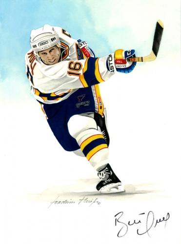 Brett Hull, Portrait by Joachim Thiess