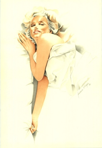 Marylin Monroe by Joachim Thiess