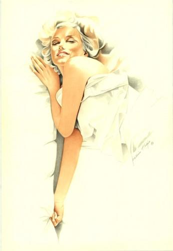 Marylin Monroe by Joachim Thiess