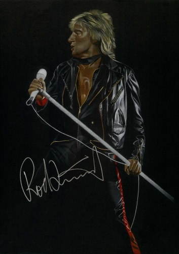 Rod Stewart, Portrait by Joachim Thiess