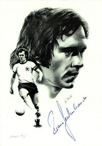 Franz Beckenbauer by Joachim Thiess