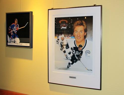 Ausstellung des Portraits und der Collage