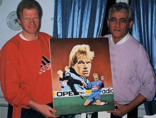 Oliver Kahn und Joachim Thiess