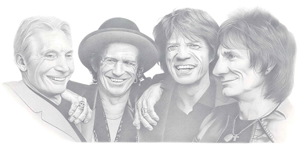 The Rolling Stones by Joachim Thiess