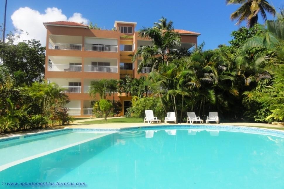 La résidence CAOBA : vente et location d'appartements en République Dominicaine