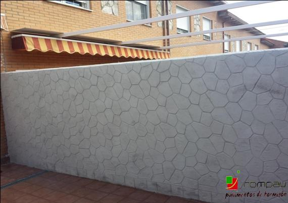 mur imprime Rompav