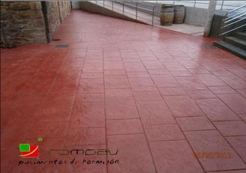 beton imprime france Pau