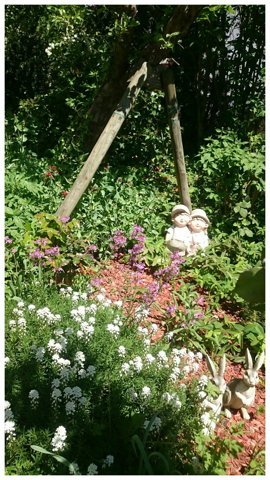 Garten Ferienwohnung ANNIKA