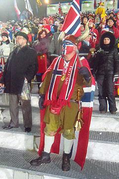 """""""Morten"""" - Ein Biathlos-Fan aus Norge SUPER TYP!"""