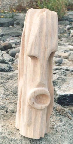Mami Wata, Holz, 1990, 35 cm H