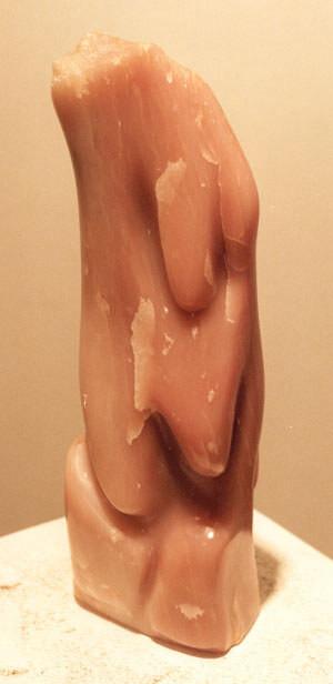 Demeter, Speckstein, 1993, 40 cm H