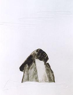 Das Raunen der Steine II, 1999, 20x26