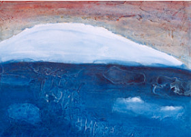 Eisgang II, 2003, 30x40
