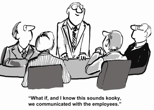 Communicatie bij verandering, corporate storytelling bij verandering