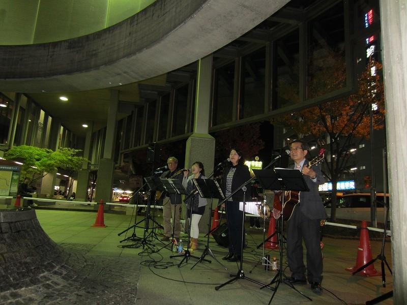 場所は名鉄東岡崎駅南口です