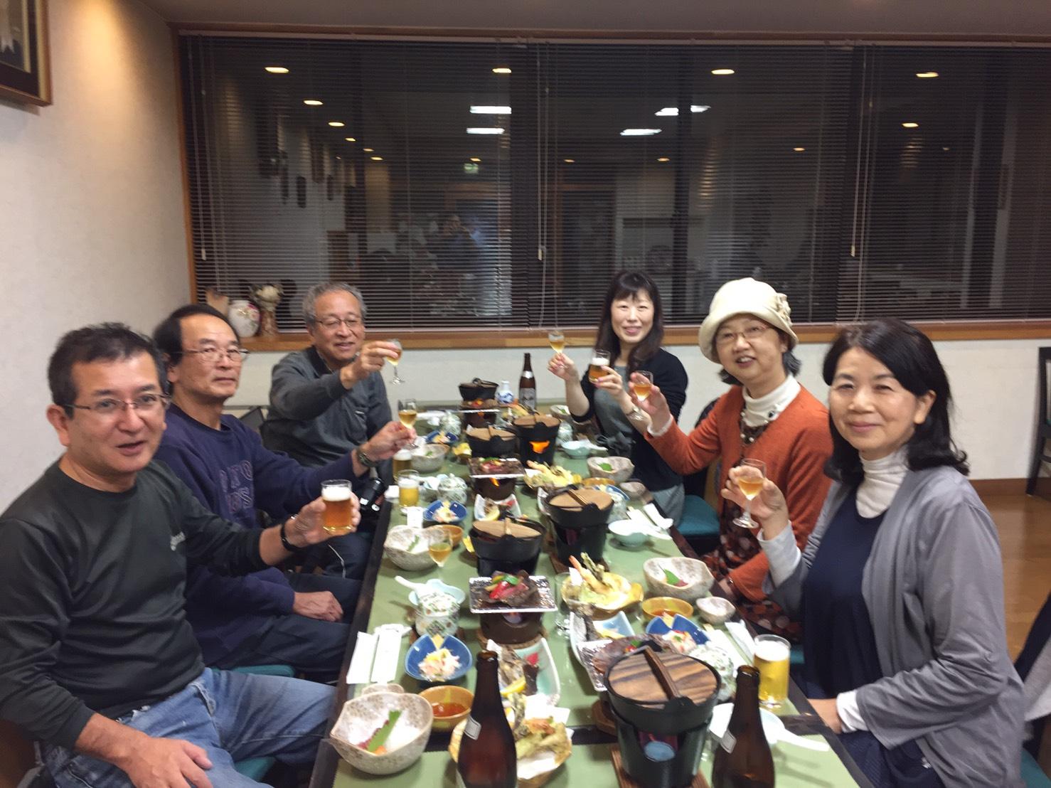 トシさん歓迎夕食会!これからよろしく!