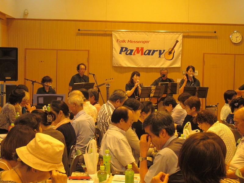 ミカさん トシさん 加わって歌声タイムです