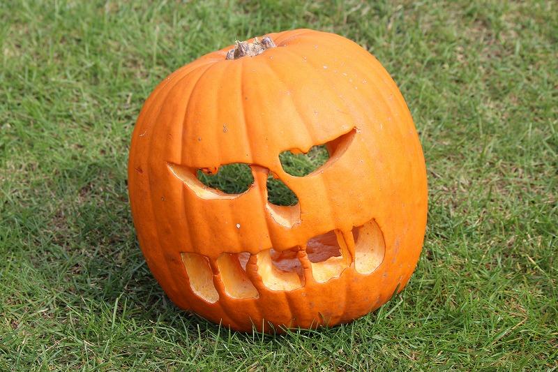 そういえば、10月もあとわずか、ハロウィン です