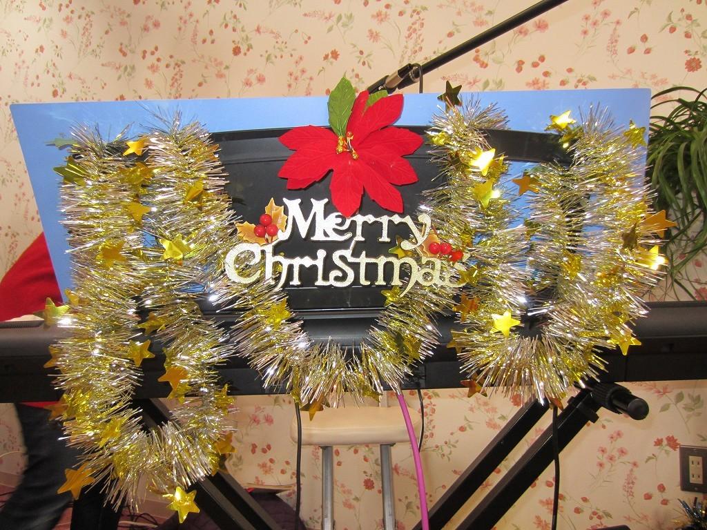 クリスマス特集で飾付しました