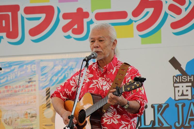 ゲストは往年のフォーク歌手 マイク真木さんです