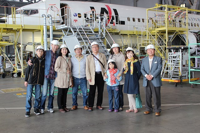 PaMary Family で 記念撮影 二日間の東京ツアーお疲れ様でした!