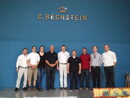 Zu Besuch im Bechsteinwerk in Seifhennersdorf (Oberlausitz)